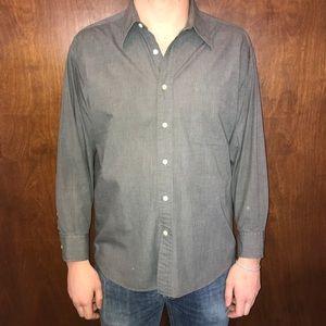 Christian Dior Grey Dress Shirt